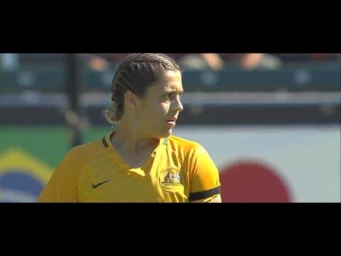 (1) Australia vs Brazil 8.3.2017 / ToN 2017