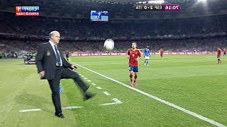 Crazy Managers Skills amp Goals in Football Match