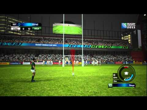 Rugby World Cup 2011 The Official Game - Demo Gameplay [HD]