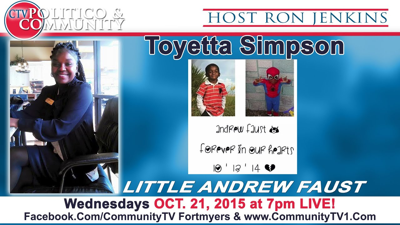 [10-21-2015] CTV Politico & Community with studio guest Toyetta Simpson