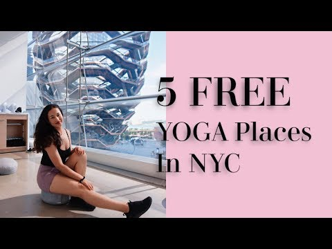 Trying 5 Free Yoga & Meditation Studios In NYC + Review