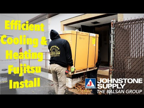 Efficient AC And Heating Install Of Fujitsu Systems