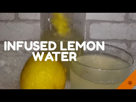 Good For The Tummy | Infused Lemon Water | #MajLife2020 ° #5