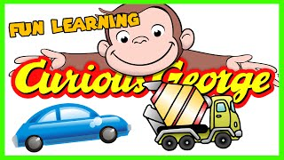 trucks and cars full kids tv game playthrough episode with curious george friends