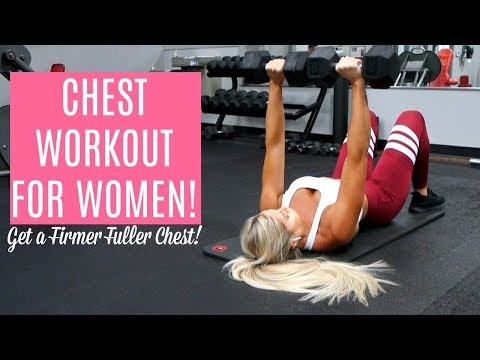 DUMBBELL CHEST WORKOUT FOR WOMEN!