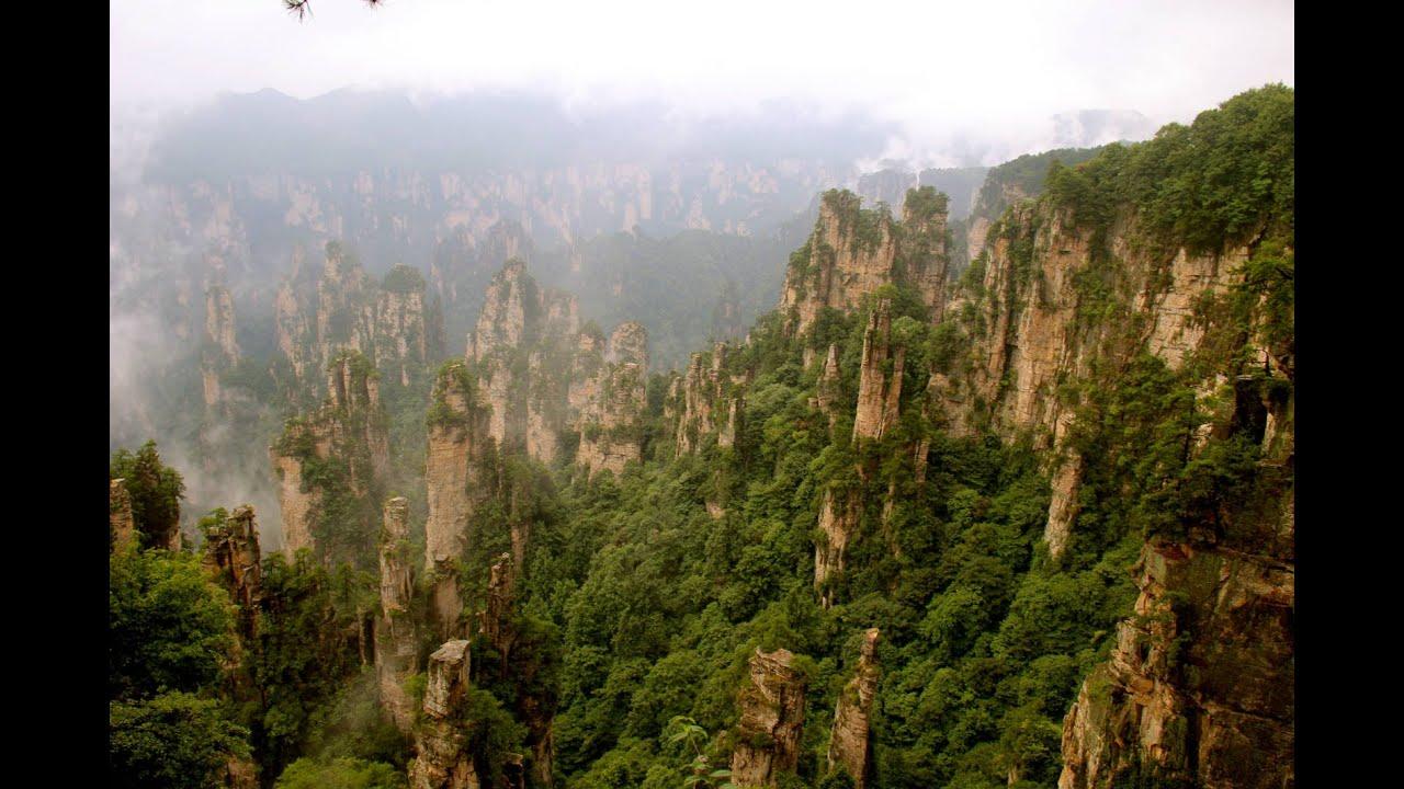 Amazing Tianzi Mountains In China