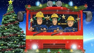 Sam el Bombero en Español 🌟❄️ Especial de Navidad ❄️Necesidad de atrapar a Santa 🌟Dibujos animados