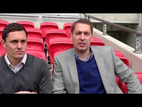 Grimsby Town bosses Paul Hurst and Rob Scott give their thoughts on Wembley