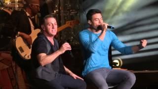 Franco de Vita ft. Carlos Rivera -Y tú te vas - Arena Ciudad de México (31 01 14)
