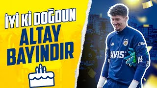 Altay Bayındır's Birthday Before the Training 😊🎂