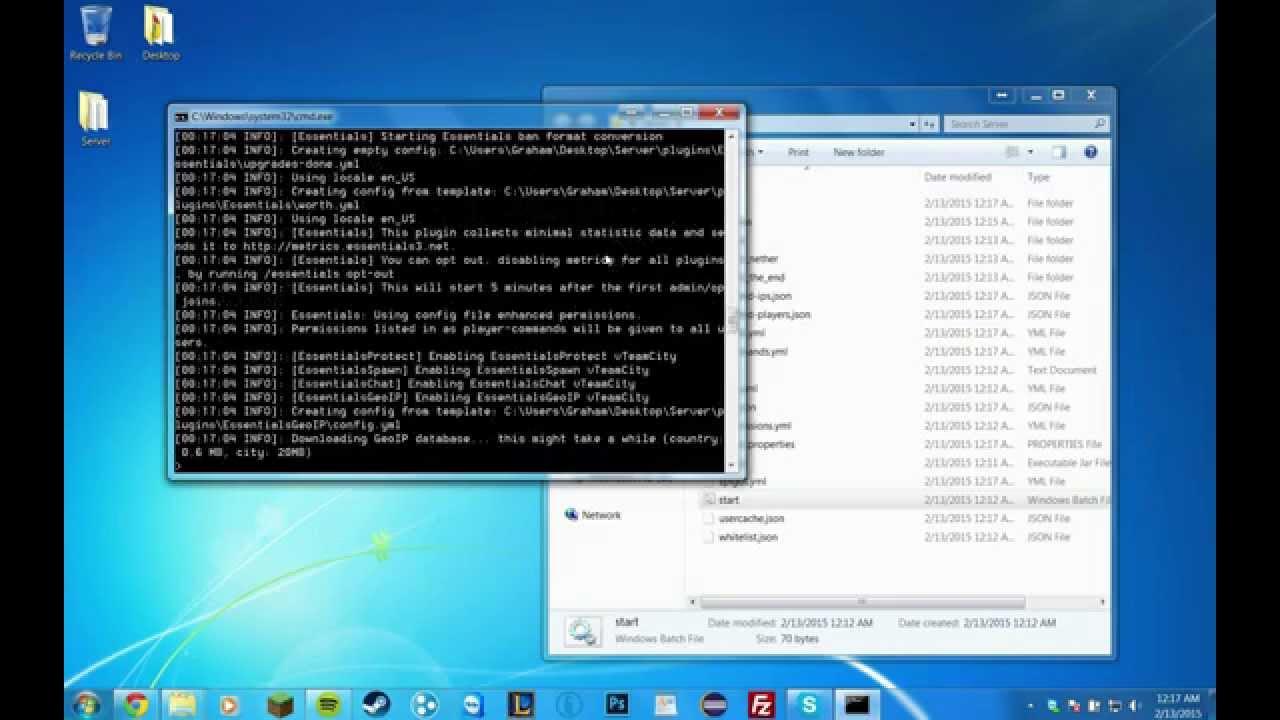 Spigot 1 8 Server Build Tutorial Including Essentials and World Edit