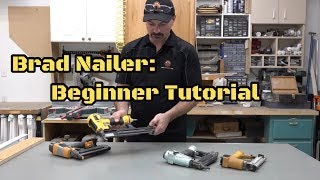 How To Use A Pneumatic Brad Nailer