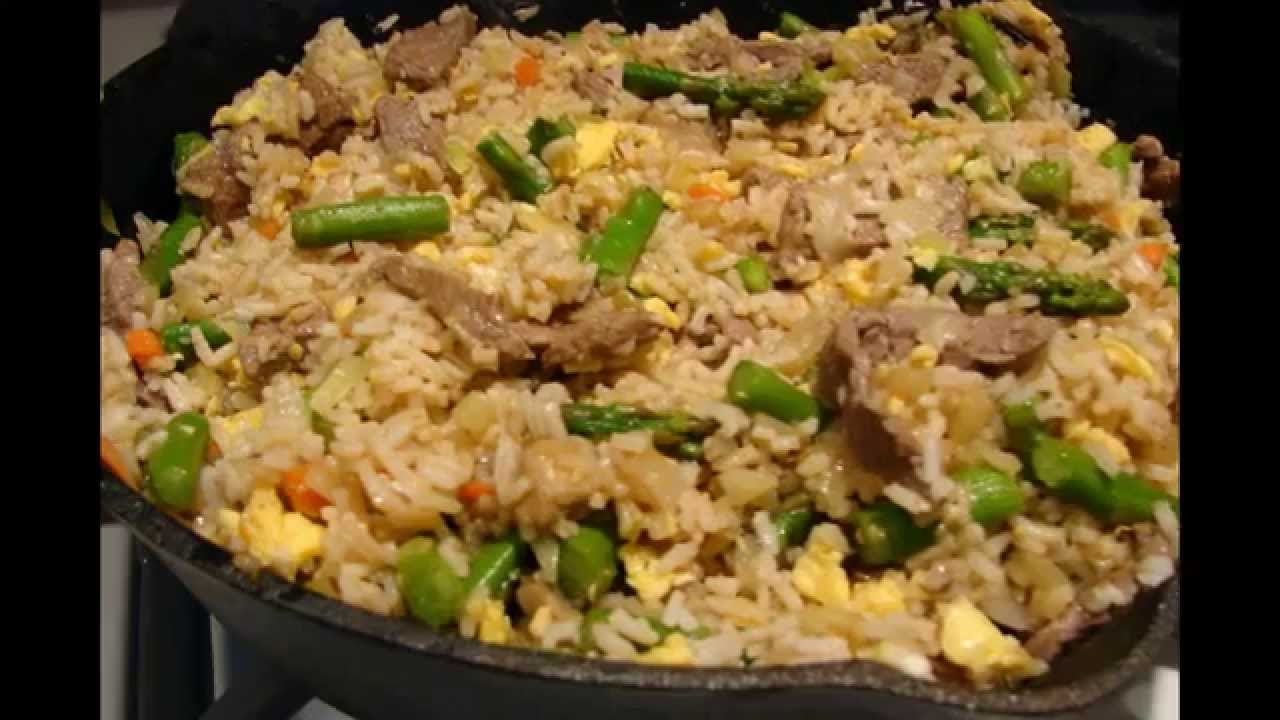 How to make beef fried rice chinese youtube how to make beef fried rice chinese ccuart Image collections