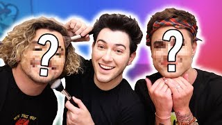 GETTING FULL-FACE MAKEOVERS BY MANNYMUA