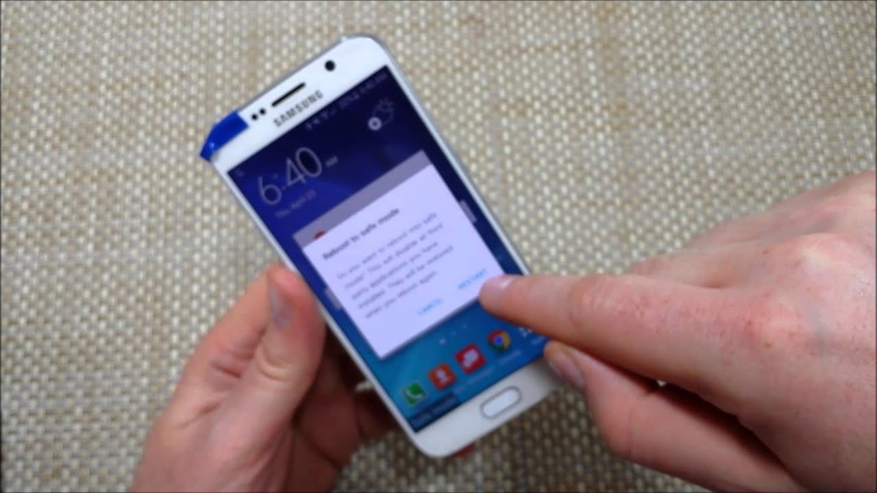Samsung Galaxy S6 Three ways to Enable or Turn On SAFE MODE \u0026 turn off  Safemode , YouTube