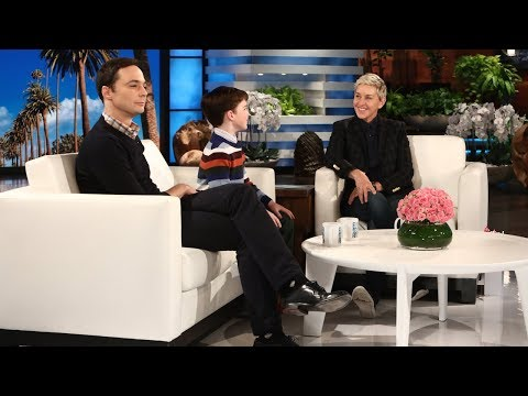 Jim Parsons and Iain Armitage Talk 'Young Sheldon'