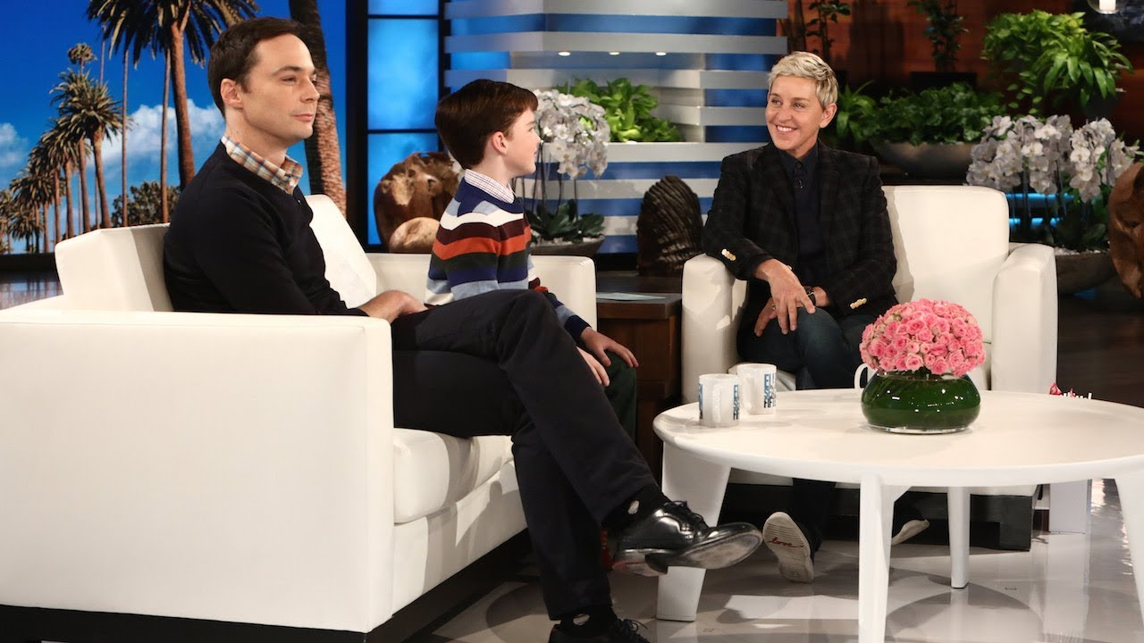 Download Jim Parsons and Iain Armitage Talk 'Young Sheldon'