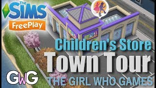 The Sims Freeplay- Children's Store