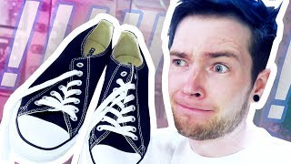 I GAVE AWAY MY SHOES!!!