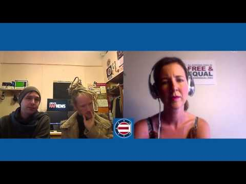 Christina Tobin Interviews Juice Rap News | Free & Equal Network