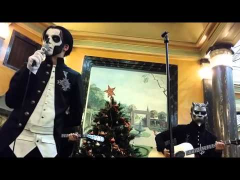 Ghost - If you have Ghosts - Acoustic session Paris 2015
