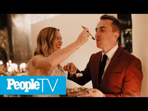Frankie Muniz Opens Up About His 'Magical' Wedding To Paige Price | PeopleTV