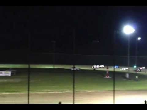 Tyler Lewis May 11, 2012 Feature Race at L A Raceway