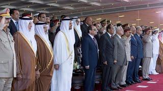 أخبار عربية | محمد بن زايد: دور #مصر المحوري والتضامن سبيل لردع الطامعين