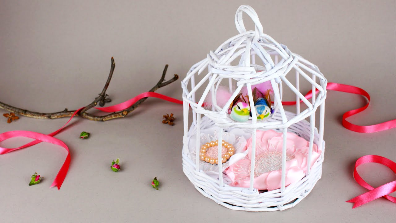 DIY Decorative Bird Cage - YouTube