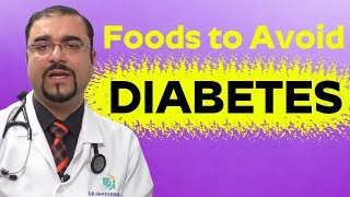 AVOID FOOD - Diabetes