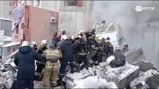 Взрыв в Нижнем Новгороде: спасатели достают женщину из-под завалов