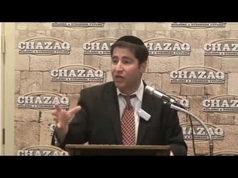 "R' Benzion Klatzko on ""5 Reasons People Return to Judaism"""