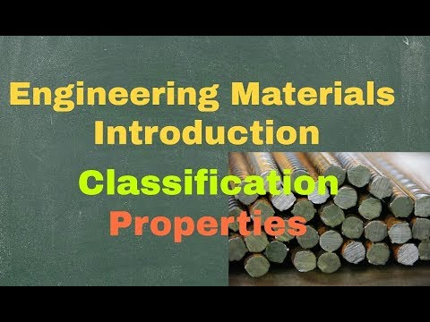 Engineering Materials I Introduction | Classification | Properties |Cast iron & its types