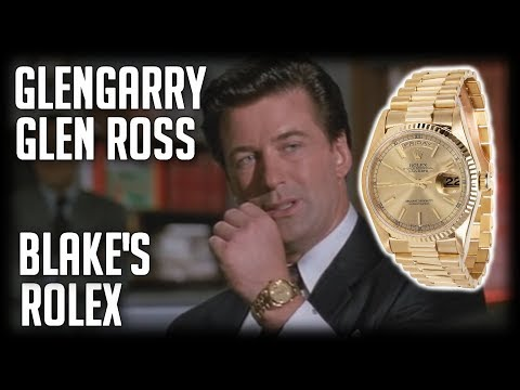 Rolex Day Date | Glengarry Glen Ross | Cool Watches In Film