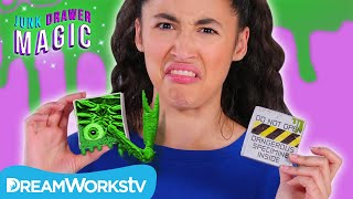 Gross Alien Goo Trick | JUNK DRAWER MAGIC