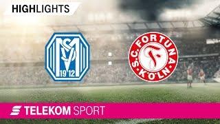SV Meppen - Fortuna Köln | Spieltag 17, 18/19 | Telekom Sport