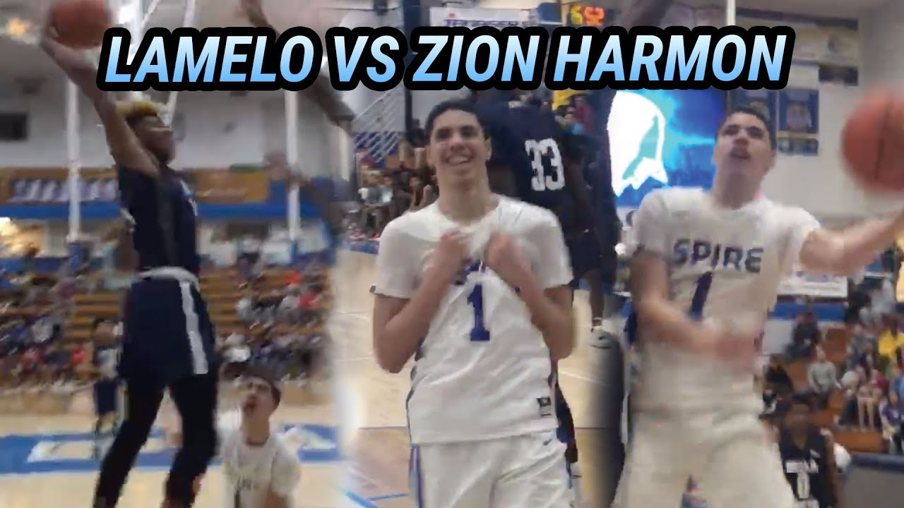 LaMelo Ball Went IN HIS BAG vs Zion Harmon! GOES OFF For 36 Points & 14 Rebounds In SERIOUS Win 😈