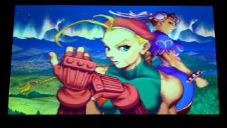 Super Street Fighter 2X: FMS (DC Import) Intro