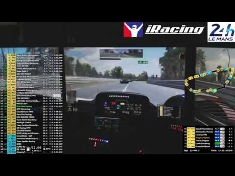 iRacing 24 Hours of Le Mans #1