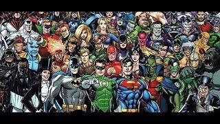 Все сериалы по комиксам DC Comics с 1941 по 2016. The History of DC Television.
