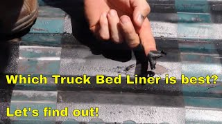 Which Truck Bed Liner is best?  Let