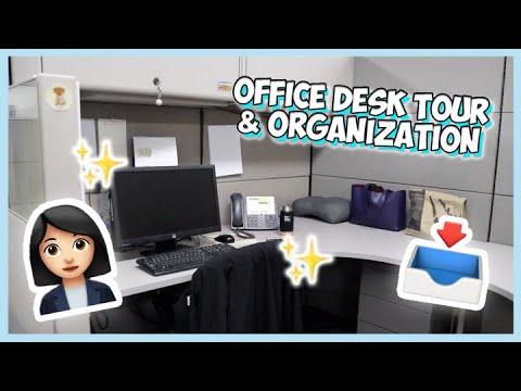 OFFICE DESK TOUR/ORGANIZATION (corporate job) | Thea Sy Bautista 🌸