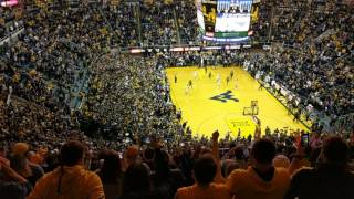 WVU Storms Court After #1 Baylor Victory