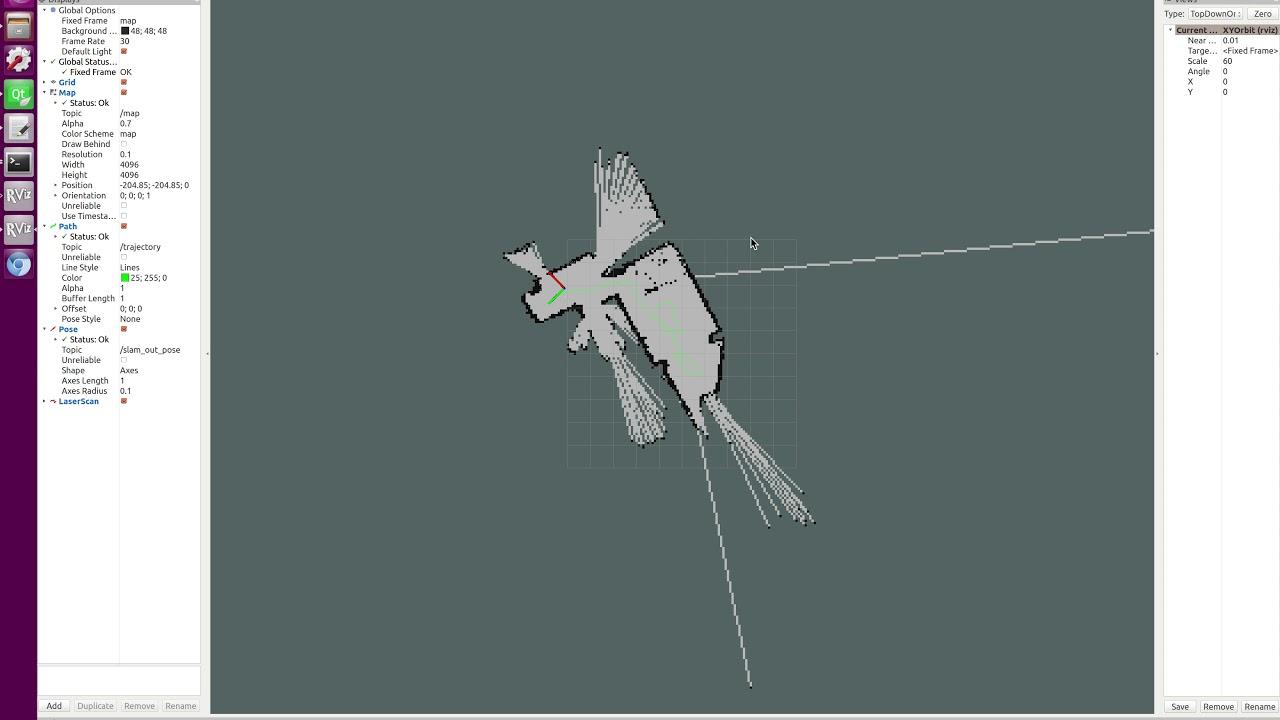 Scanse LIDAR + Hector SLAM demo (ROS lunar)
