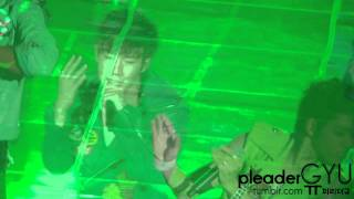 [Fancam] 120211 성규 3분의1 @Infinite Second Invasion concert