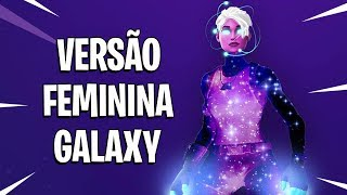 NEW RARE SKIN! * GALAXY FEMALE * FORTNITE BATTLE ROYALE