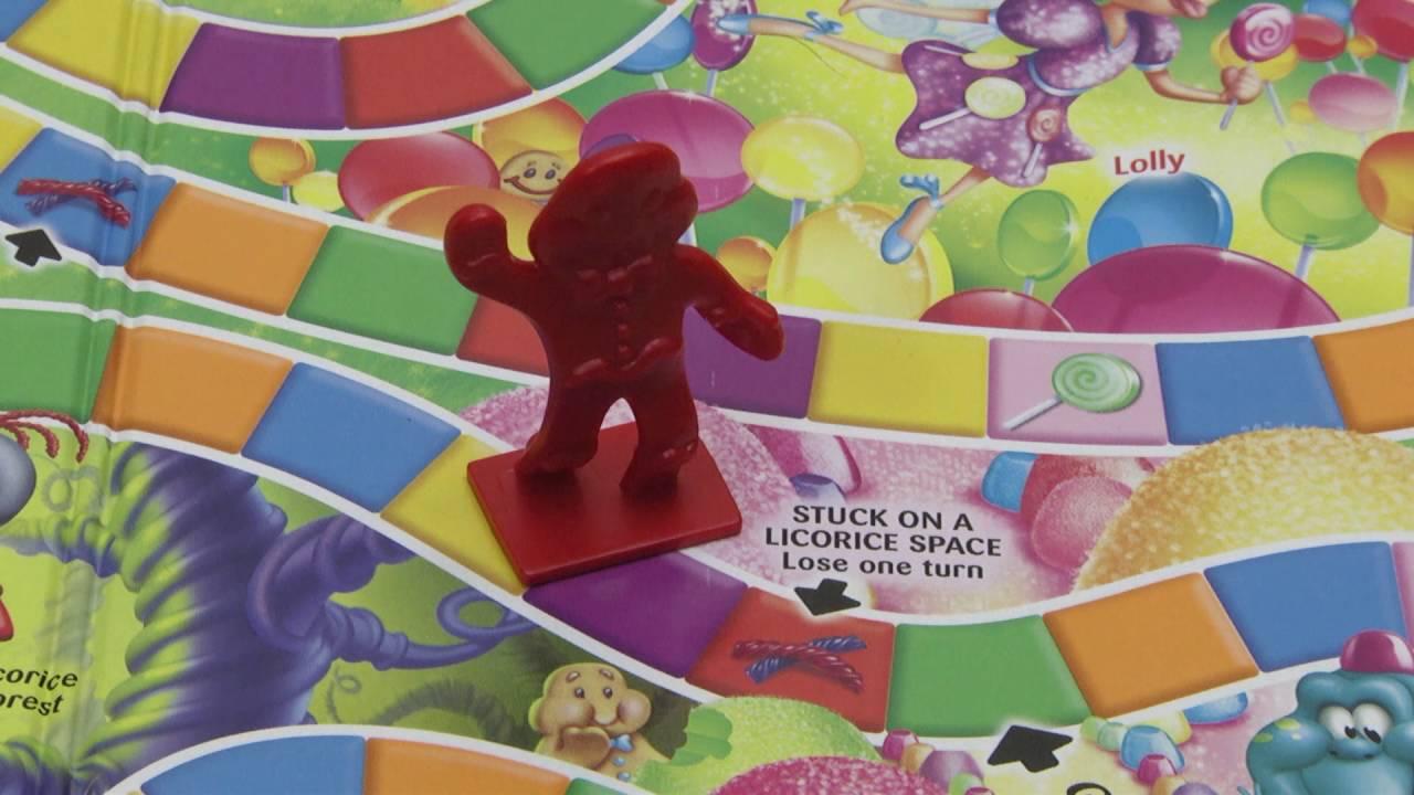 Candyland Spiel