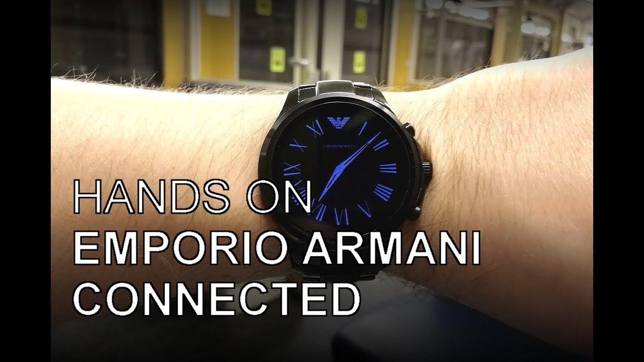 e3fd14c0692 Emporio Armani Connected - die smarte Markenuhr im Ersteindruck ...