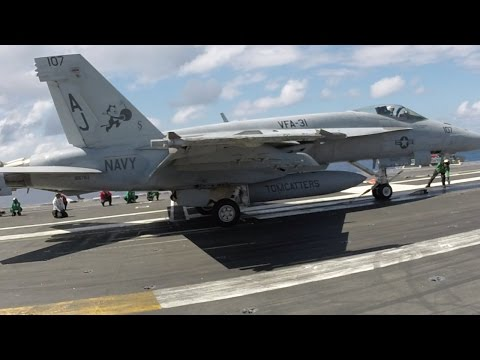 My Visit to an Active Aircraft Carrier. With Narration.