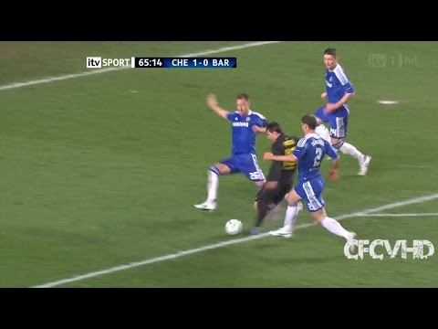 John Terry vs Barcelona (Home) Semi Final UCL 11/12 HD